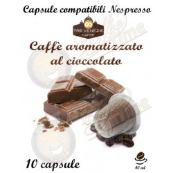 CAFFE' TRE VENEZIE NESPRESSO CIOCCOLATO 10 CAPSULE