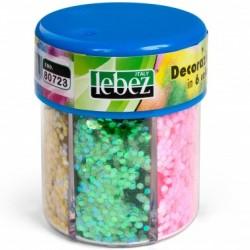 Dispenser Decorazioni in 6 Colori da 80gr Lebez