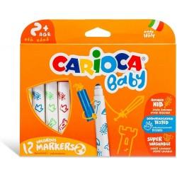 Pennarelli Carioca Baby Marker 12pz