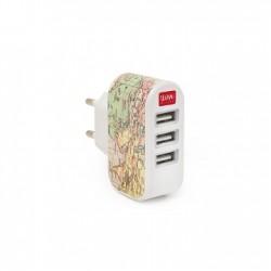Plug & Charge - Caricabatterie da Muro 3 USB - Legami