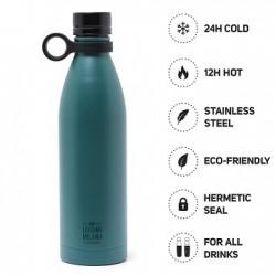 Hot&Cold Bottiglia Termica 800 ml Legami Blu Petrolio