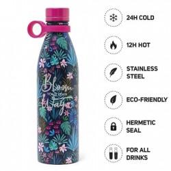 Hot&Cold Bottiglia Termica 800 ml Legami Flora