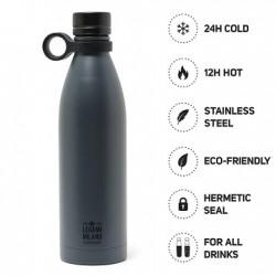 Hot&Cold Bottiglia Termica 800 ml Legami Nera