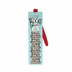 SEGNALIBRO CON ELASTICO LEGAMI - So many books, so little time