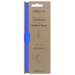 Chiusura Ad Elastico Per Clipbook A5 blu