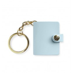 Portachiavi Mini Organizer Filofax Centennale Blu